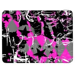 Pink Scene Kid Samsung Galaxy Tab 7  P1000 Flip Case
