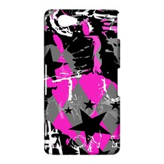 Pink Scene kid Sony Xperia Z1 Compact Hardshell Case