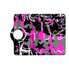 Pink Scene kid Kindle Fire HD (2013) Flip 360 Case