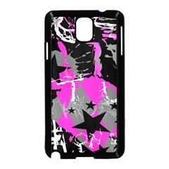 Pink Scene kid Samsung Galaxy Note 3 Neo Hardshell Case (Black)