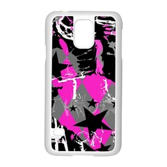 Pink Scene kid Samsung Galaxy S5 Case (White)