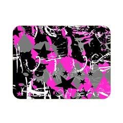 Pink Scene kid Double Sided Flano Blanket (Mini)