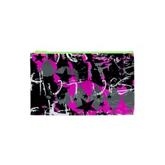 Pink Scene kid Cosmetic Bag (XS)