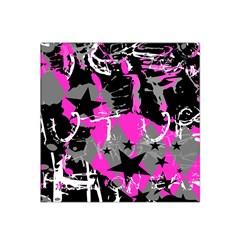 Pink Scene kid Satin Bandana Scarf