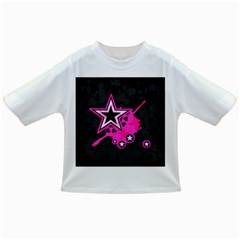 Pink Star Graphic Baby T-shirt