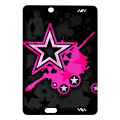 Pink Star Graphic Kindle Fire Hd (2013) Hardshell Case