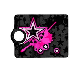 Pink Star Graphic Kindle Fire HD (2013) Flip 360 Case