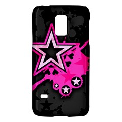 Pink Star Graphic Samsung Galaxy S5 Mini Hardshell Case