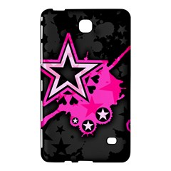 Pink Star Graphic Samsung Galaxy Tab 4 (7 ) Hardshell Case