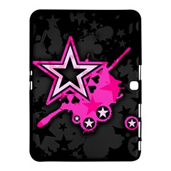 Pink Star Graphic Samsung Galaxy Tab 4 (10 1 ) Hardshell Case