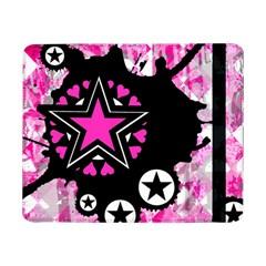 Pink Star Splatter Samsung Galaxy Tab Pro 8 4  Flip Case