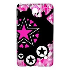 Pink Star Splatter Samsung Galaxy Tab 4 (8 ) Hardshell Case