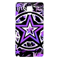 Purple Star Samsung Note 4 Hardshell Back Case