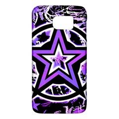 Purple Star Samsung Galaxy S6 Hardshell Case