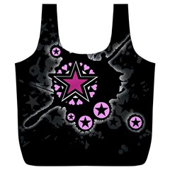 Pink Star Explosion Reusable Bag (xl)