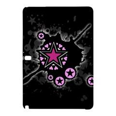 Pink Star Explosion Samsung Galaxy Tab Pro 10.1 Hardshell Case