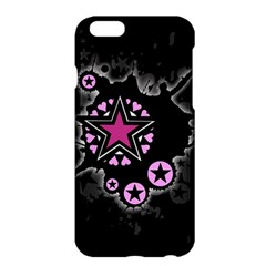 Pink Star Explosion Apple iPhone 6 Plus Hardshell Case