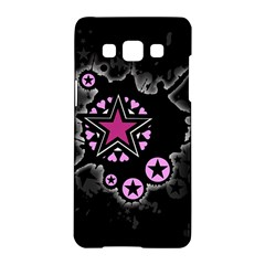 Pink Star Explosion Samsung Galaxy A5 Hardshell Case