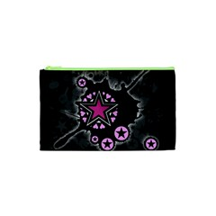 Pink Star Explosion Cosmetic Bag (XS)