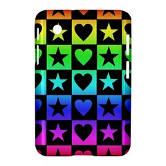 Rainbow Stars And Hearts Samsung Galaxy Tab 2 (7 ) P3100 Hardshell Case