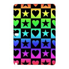 Rainbow Stars and Hearts Samsung Galaxy Tab Pro 10.1 Hardshell Case
