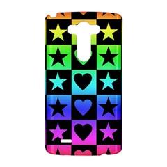 Rainbow Stars and Hearts LG G3 Hardshell Case