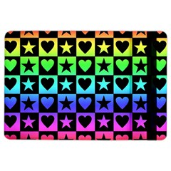 Rainbow Stars and Hearts Apple iPad Air 2 Flip Case
