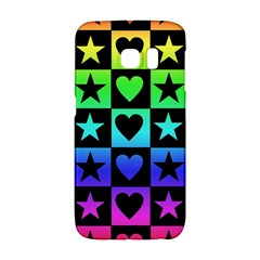 Rainbow Stars and Hearts Samsung Galaxy S6 Edge Hardshell Case