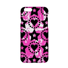 Star And Heart Pattern Apple iPhone 6 Hardshell Case