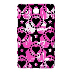 Star And Heart Pattern Samsung Galaxy Tab 4 (8 ) Hardshell Case
