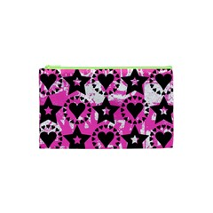 Star And Heart Pattern Cosmetic Bag (XS)