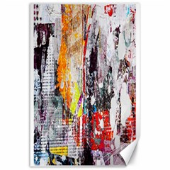 Abstract Graffiti Canvas 24  X 36  (unframed)
