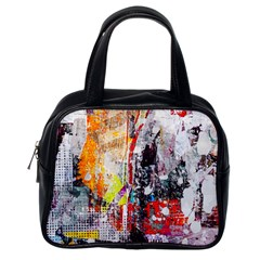 Abstract Graffiti Classic Handbag (one Side)