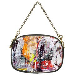 Abstract Graffiti Chain Purse (one Side)