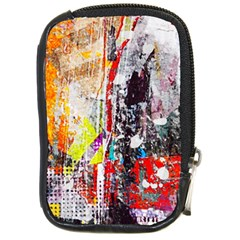 Abstract Graffiti Compact Camera Leather Case