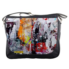 Abstract Graffiti Messenger Bag