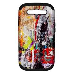 Abstract Graffiti Samsung Galaxy S Iii Hardshell Case (pc+silicone)
