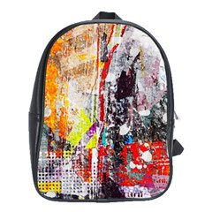 Abstract Graffiti School Bag (xl)