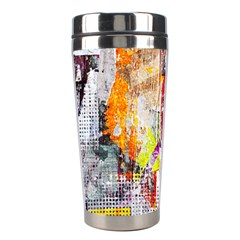 Abstract Graffiti Stainless Steel Travel Tumbler