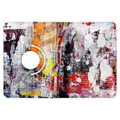 Abstract Graffiti Kindle Fire HDX Flip 360 Case