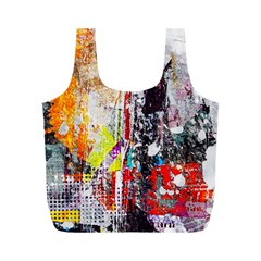 Abstract Graffiti Reusable Bag (m)