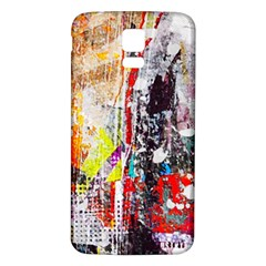 Abstract Graffiti Samsung Galaxy S5 Back Case (White)
