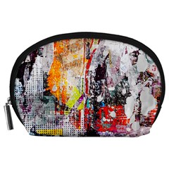 Abstract Graffiti Accessory Pouch (Large)