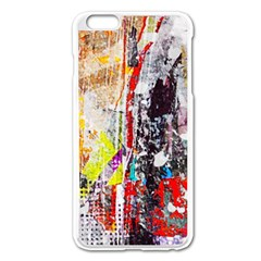Abstract Graffiti Apple iPhone 6 Plus Enamel White Case