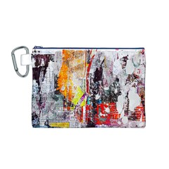 Abstract Graffiti Canvas Cosmetic Bag (Medium)
