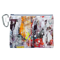 Abstract Graffiti Canvas Cosmetic Bag (Large)