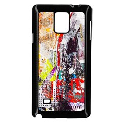 Abstract Graffiti Samsung Galaxy Note 4 Case (black)