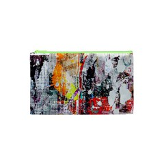 Abstract Graffiti Cosmetic Bag (XS)