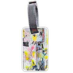 Graffiti Graphic Luggage Tag (two Sides)