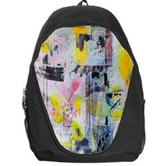 Graffiti Graphic Backpack Bag